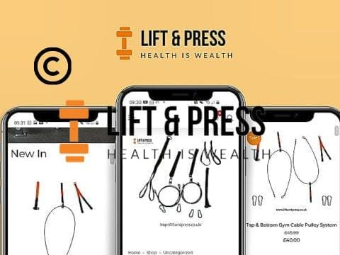 Lift and Press Shop - Commercial grade home gym equipment
