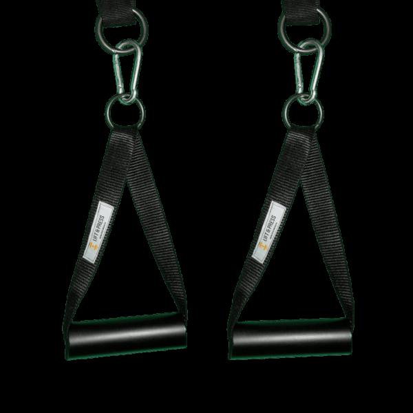 Gym stirrup handles
