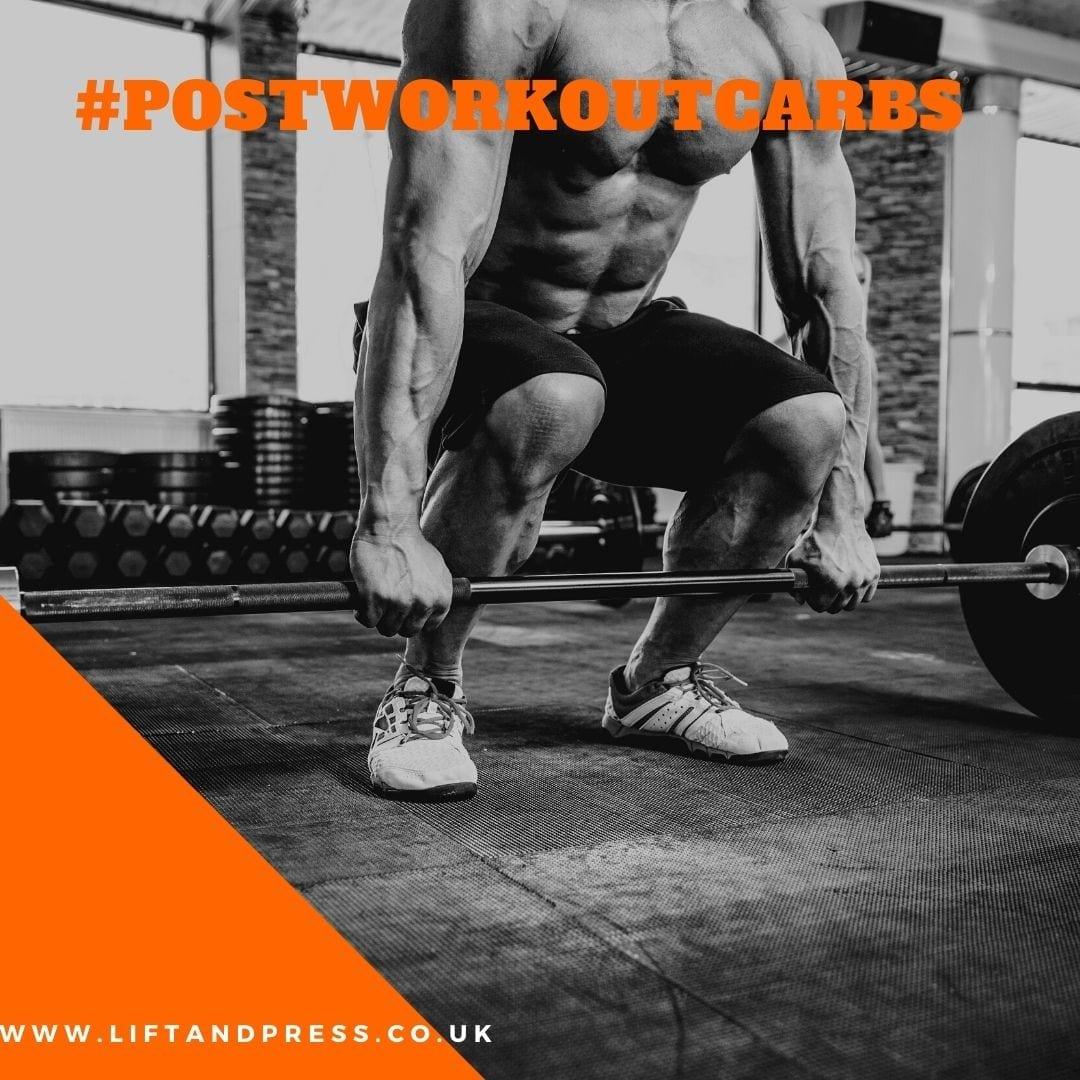post workout carbs - vitargo by lift & Press
