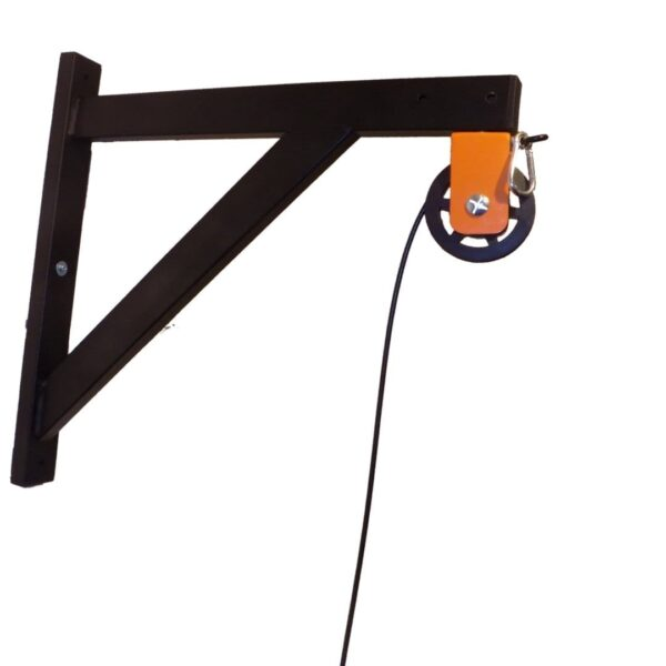 Wall mounted Cable Pulley System